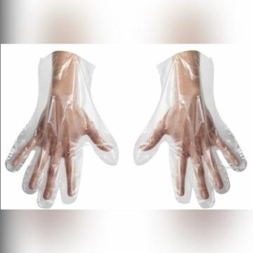 Promocja! Rękawiczki  HDPE  100szt. Tanio!  Mocne!