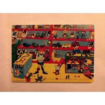 Drewniane puzzle Pippi Langstrumpf