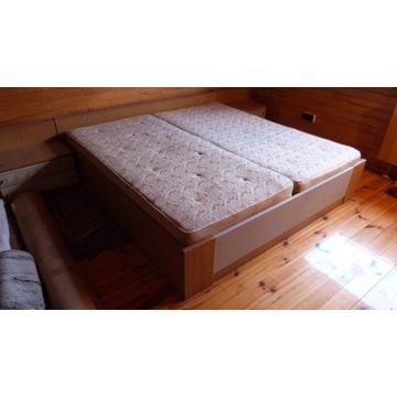 Zestaw sypialniany do sypialni łóżko szafa szafka!