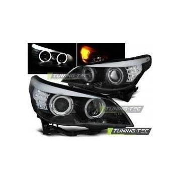 Lampy XENON przód BMW E60 D2S ANGEL EYES