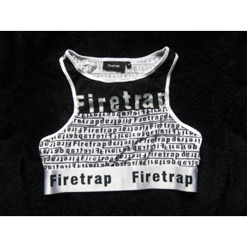 Top sportowy FIRETRAP croptop bokserka fitness 40