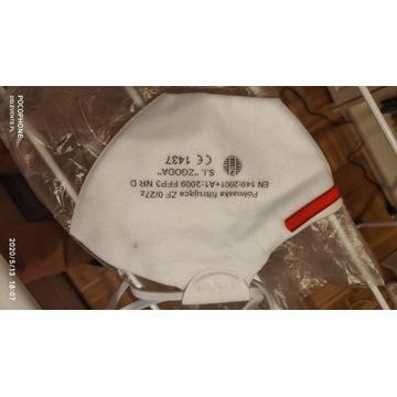 Antywirusowa maska filtrująca ffp3 zgoda maseczka