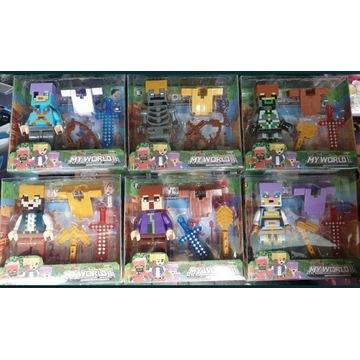 Minecraft figurki Nowe 10cm