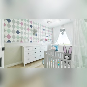 Pokój dziecka -projekt aranżacji wnętrz