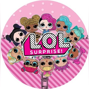 LOL SURPRISE - laleczki z niespodzianka