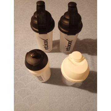 2x Shaker 700 ml i 1x Bidon firmy Etixx