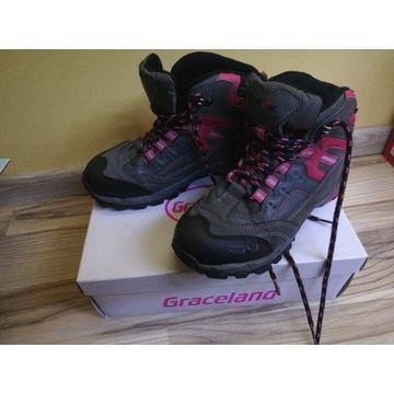 Buty trekkingowe dla dziewczynki