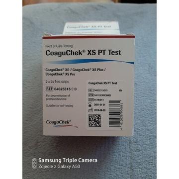 Sprzedam paski Pt-Test Coaguchek xs