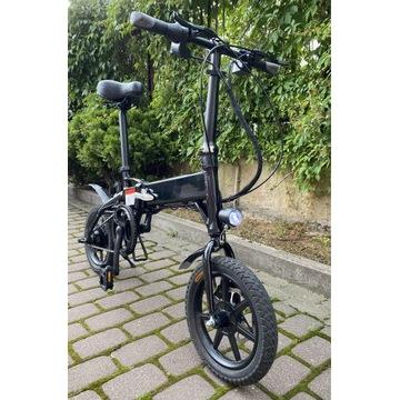 Rower elektryczny eycos yogi-iq