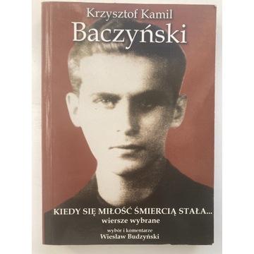 K.K. Baczyński, Wiersze wybrane
