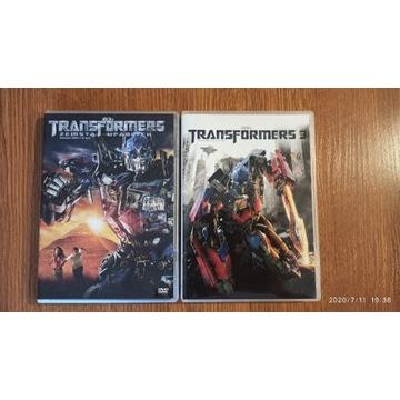 Transformers 2 i 3 DVD PL