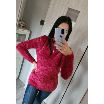 Katsumi - czerwony bordowy miękki sweter- S / M
