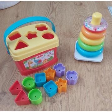Zabawki Fisher Price Wieża z kółkami i Sorter