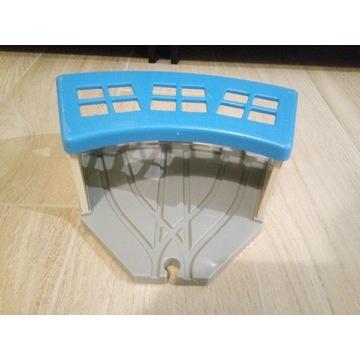 Zajezdnia, zwrotnica i most - klocki IKEA
