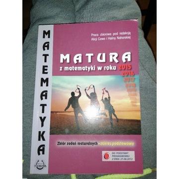 Książka do matematyki z maturami i zadaniami