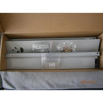boki szuflad GTV MB z akcesoriami 50 cm niskie