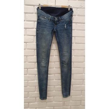 Spodnie ciążowe jeansowe H&M rozmiar 34