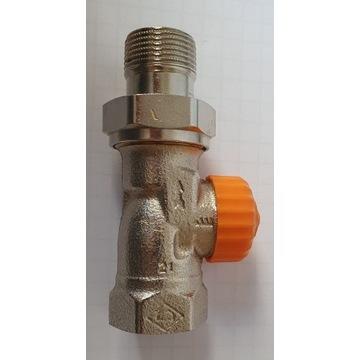 Zawór termostatyczny prosty Heimeier 3/4 cala DN20