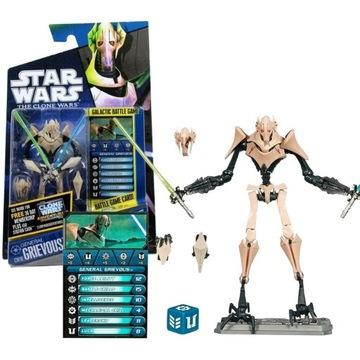 Figurka STAR WARS General Grievous Clone Wars CW10