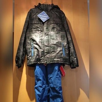 Kombinezon narty/snowboard kurtka i spodnie S