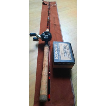 Zestaw Casting Wędka 1.98 cm 60-100g+Multiplikator
