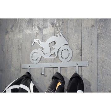 Wieszak motocyklowy sportowy