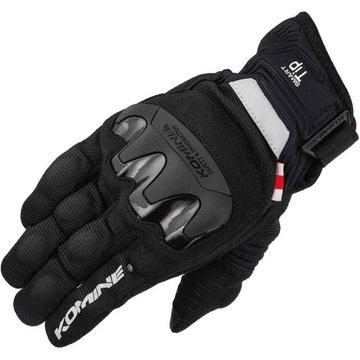 Rękawice motocyklowe KOMINE GK-220 przewiewne