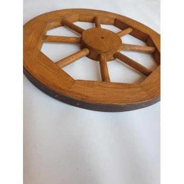 Koło drewniane koło ozdobne do wózka taczki itp.