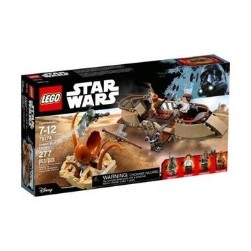 LEGO 75174 Star Wars Ucieczka na pustynnej barce