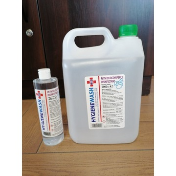 Płyn do dezynfekcji skóry i pow. 5000ml i 400 ml
