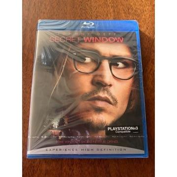 Sekretne okno [Blu-Ray] Nowy, Rarytas