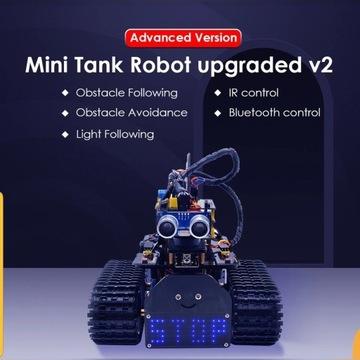 DIY mini tank Robot V2.0