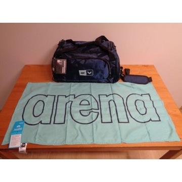 Torba sportowa Hi Mountain AL1340 + ręcznik Arena