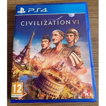 Civilization VI / PS4 / stan idealny