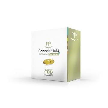 CannabiGold Terpenes+ Kapsułki wegańskie 30 x10 mg