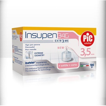 Igły do insuliny penów 3.5mm 34g