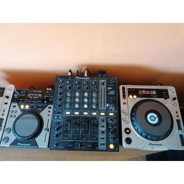 Konsoleta Pioneer DJM 700/ CDJ 400 / CDJ 800 mk2
