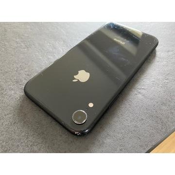 iPhone XR 64GB BLACK - GWARANCJA 12 MCY AKCESORIA