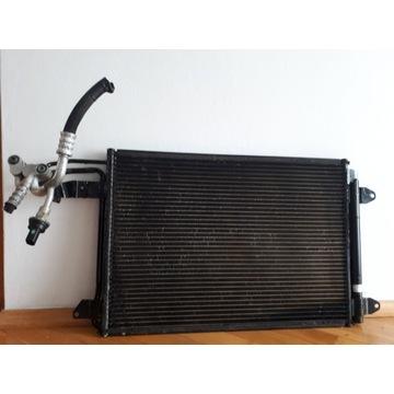 skraplacz - chłodnica klimatyzacji - oryginał VW