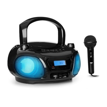 auna Roadie Sing Boombox CD radio