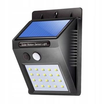 HALOGEN LAMPA SOLARNA 20 LED CZUJNIK, licytacja!
