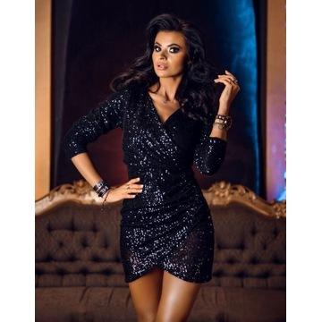 sukienka Diamond czarna S/M