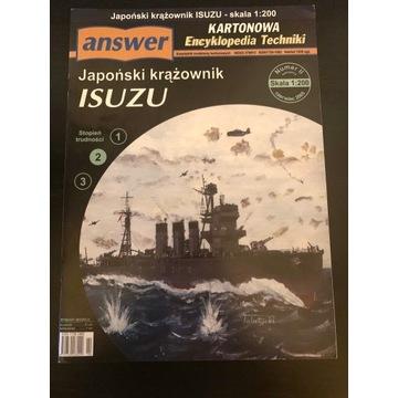 Krążownik IJN ISUZU -  skala 1:200