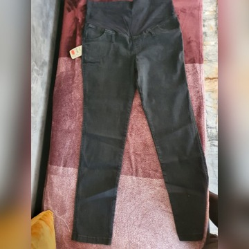 BRANCO Spodnie ciążowe jeans model 2195 rozm XXL