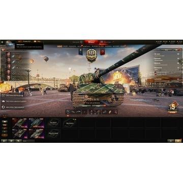 Konto WOT Godzilla, OBJ260 , 20 czołgów premium !