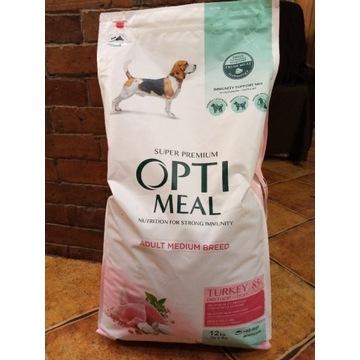 Opti Meal Adult Medium Turkey Indyk 12 kg