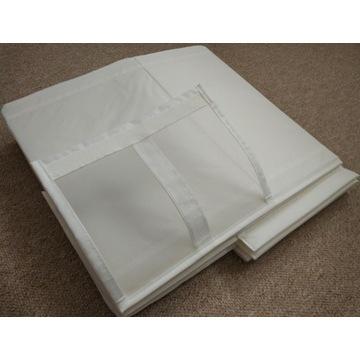 IKEA SKUBB białe pudełka na buty 4 szt. nieużywane