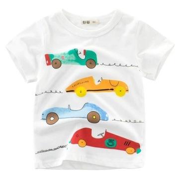 NOWA Koszulka auta, wyścigówki roz. 98