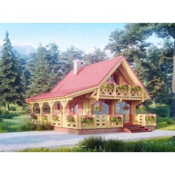 Domek drewniany Alicja II