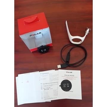 Zegarek sportowy Polar M200 biały, S, gwarancja